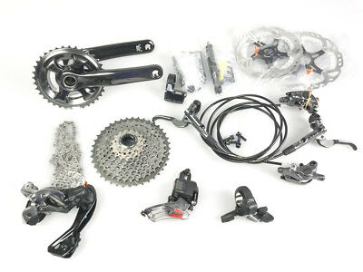 SHIMANO XTR Di2 9050 2x11s speed 170mm Group Groupset !! NEW !!