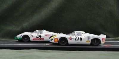 A pair of SRC 1/32nd Slot Car Porsche 907's New unboxed Run on Scalextric 201/5