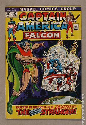 Captain America (1968 1st Series) #150 FN- 5.5