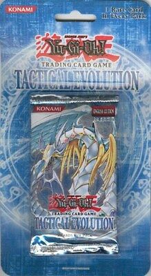 Yugioh Tactical Evolution 1St Edition 20Ct Blister Box Blowout Cards