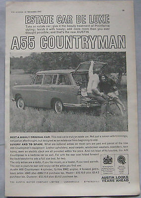 1960 Austin A55 Countryman Original advert