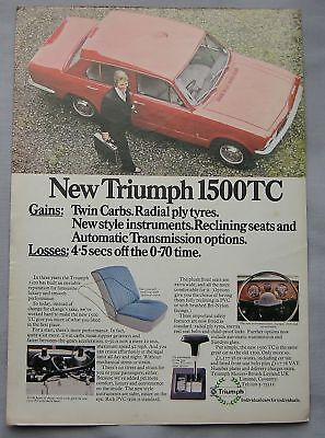 1973 Triumph 1500TC Original advert