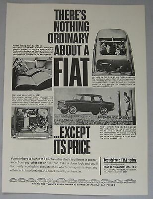 1964 Fiat Original advert