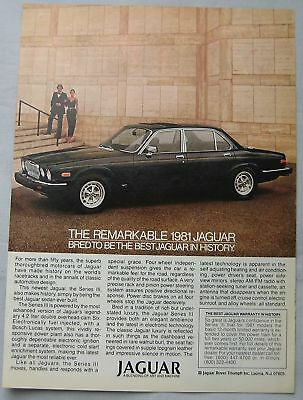 1981 Jaguar Original advert