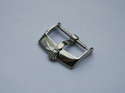 16Mm Rolex Stainless Steel Watch Strap Buckle, Will Fit 18Mm Strap