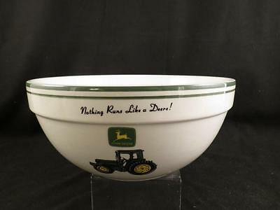 "GIBSON John Deere Medium Size Mixing Bowl~4""~MINT!"