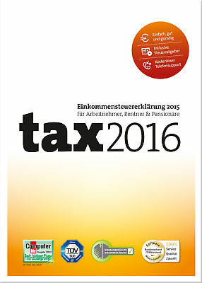tax 2016, Buhl Data Service GmbH