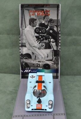 Fly 99128 Porsche 917K Gulf  Le Mans Slot Car Compatible 1/32 Scalextric