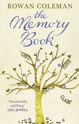 The Memory Book (Paperback), Coleman, Rowan, 9780091953119