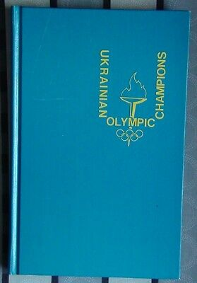 Sportsmen of Ukraine at the Olympic Games, 1984, rarity, English
