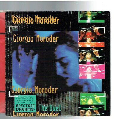 Giorgio Moroder The Duel From The Film Electric Dreams Ps 45 1984
