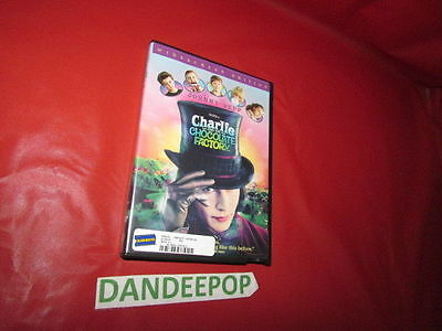 Charlie And The Chocolate Factory Widescreen Edition Johnny Depp DVD Movie