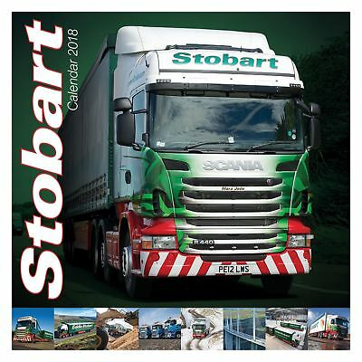 Eddie Stobart Official 2018 Square Wall Calendar