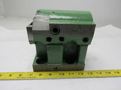 "2"" ID Turret Tooling Holder Block 20mm Alignment Groove"