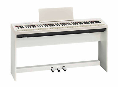 Roland FP-30 Digital Piano with Stand and Pedalboard, White (NEW)