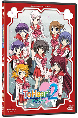 To Heart 2: Anime Romance TV Series Complete Collection 1-13 Box / DVD Set NEW!