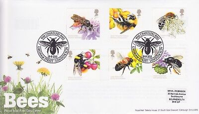 Gb Stamps First Day Cover 2015 Bees Gresham Street Rare Pmk Collection