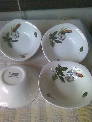 4 Midwinter Stylecraft Riverside Cereal/soup Bowls