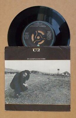 "In God's Country - U2 (3-track 7"" p/s)"