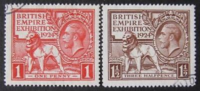 GV 1924 wembley set, v.fine used. Sg.430/1.