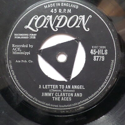 Jimmy Clanton   A Letter To An Angel  Tri London 45