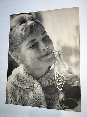Connie Hines Hollywood TV Star Mister Ed Horse RC Royal Crown Cola Soda Ad 1960s
