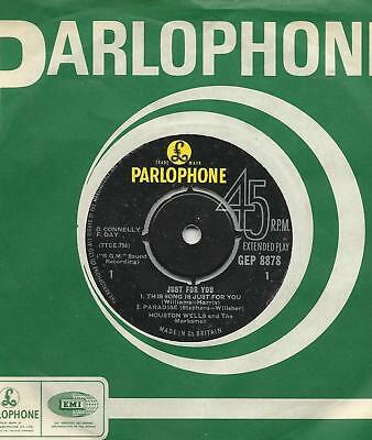 Houston Wells and the Marksmen Just For You 1963 ep Parlophone