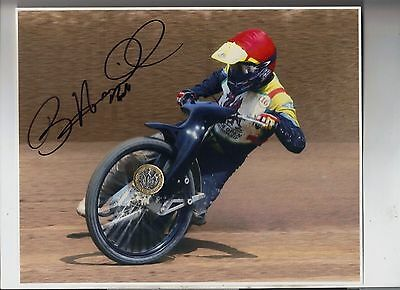 Billy Hamill Original Professional 10 x 8 Photo HAND SIGNED