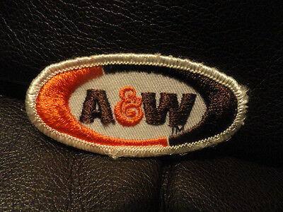 A&W Root Beer Patch - Soda - Pop  - Vintage - New - Original