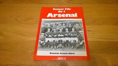 Soccer File No 1 ARSENAL
