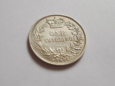 An UNC 1865 Die 58 Victoria YH Shilling!!!