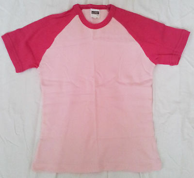 6 x Damen Shirt T-Shirt Rosa Neu Bluse Top New