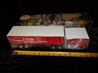 Mib 1998 Marathon Box Trailer Semi Truck Box Coin Bank Gas Station Oil Taylor