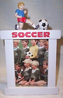 """Frame Soccer Player for Male Blonde New 3.5"""" X 5"""" Photo"""