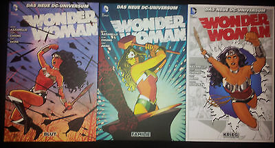 Wonder Woman # 1+2+3+4+5+6 - Das Neue Dc-Universum - Panini 2012 - 2015 - Top