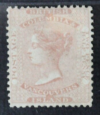 CKStamps: Canada Stamps Collection British Columbia Scott#2a Unused H Appear RG