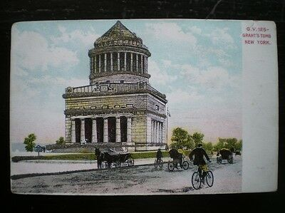 Postcard New York Grants Tomb
