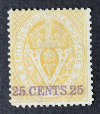 CKStamps: Canada Stamps Collection British Columbia Scott#11 Unused NG
