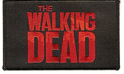 + THE WALKING DEAD Aufnäher/Patch  Logo