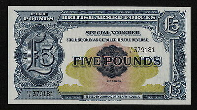 GREAT BRITAIN (PM23a) 5 Pounds ND(1958) UNC