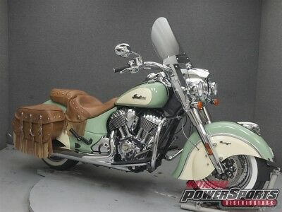 Indian Chief  2016 Indian Chief VINTAGE Used FREE SHIPPING OVER $5000