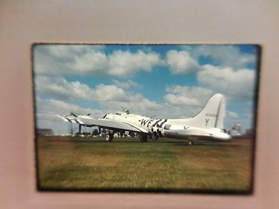 Usaf B-17 Flying Fortress  Original Ektachrome Slide - Dated July 68