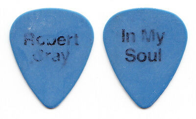 Robert Cray Signature In My Soul Concert-Used Blue Guitar Pick - 2014 Tour