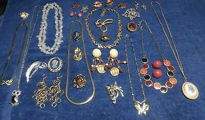 Large Vintage Collection Estate Lot of Jewelry ...