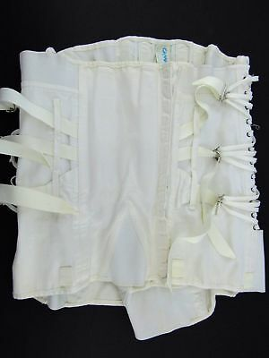 Vintage 1940's Camp Corset Girdle Lingerie with Metal Stays - Size 42