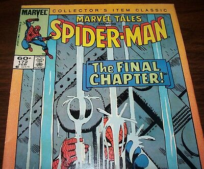 The AMAZING SPIDER-MAN #33 Reprint in Marvel Tales #172 from Feb. 1985 in Fine-