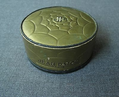 Vintage Jean Patou Amour Amour Ambre  Powder Poudre Box    France