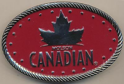 Molson Canadian (Beer) Collectible Belt Buckle - C.1980