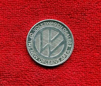 Volkswagen 1969 Saints Redskins Auto Ad Token Nr 8.50