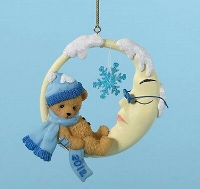 """Cherished Teddies 2012 Dated Ornament """"snowy Dreams"""" #4023651 New  Free Shipping"""